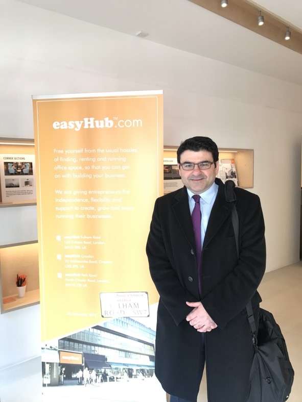 Coucounis attends the April easyGroup easy family of brands